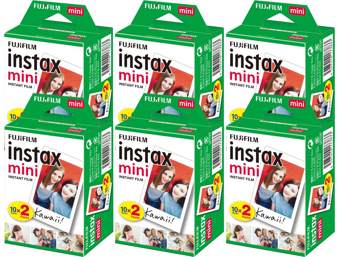 Item Cartridges FujiFilm Instax Mini 8 / 9 SET of 120 pictures