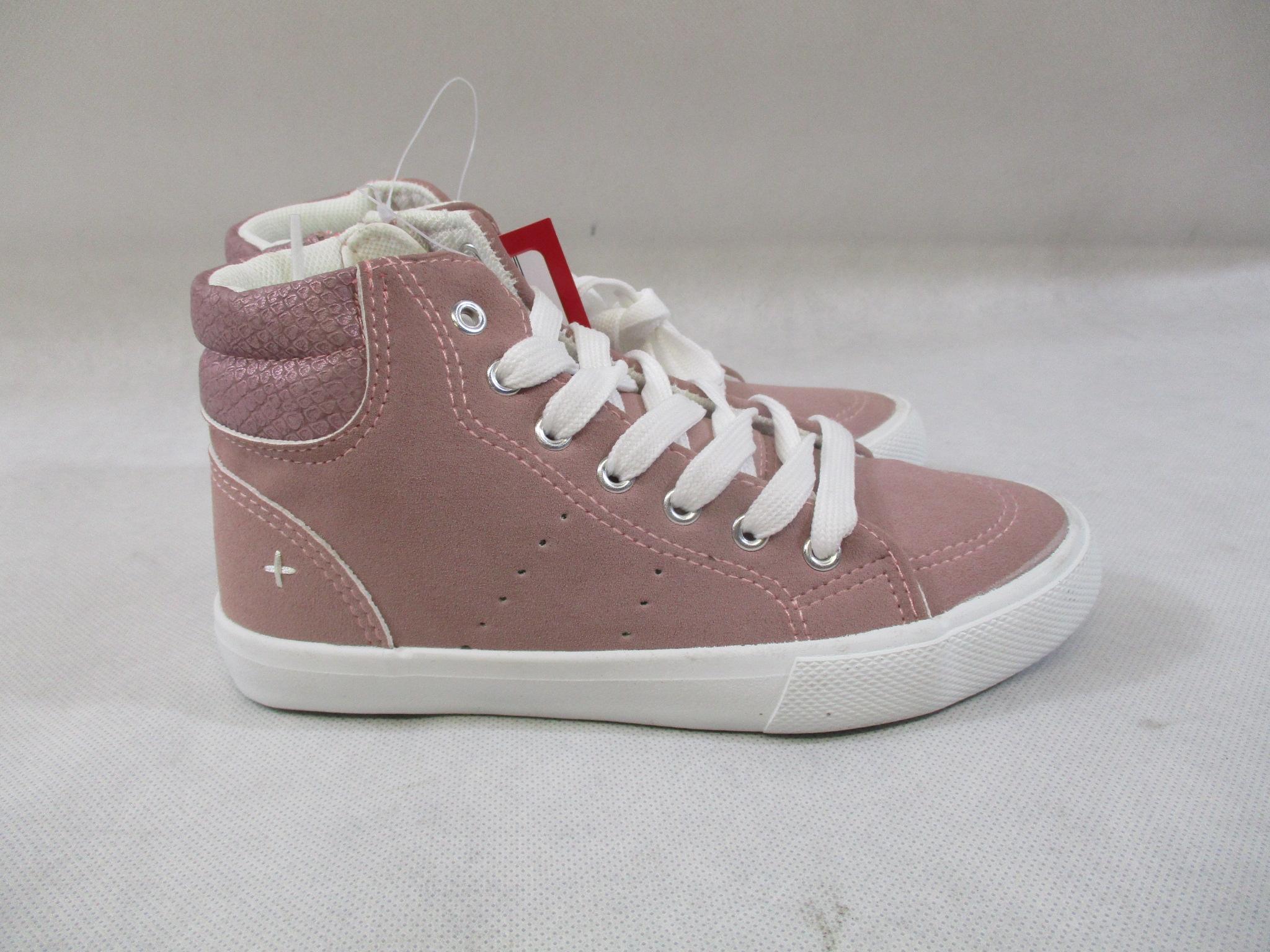 Trampki sneakersy dla dziewczynki różowe 35