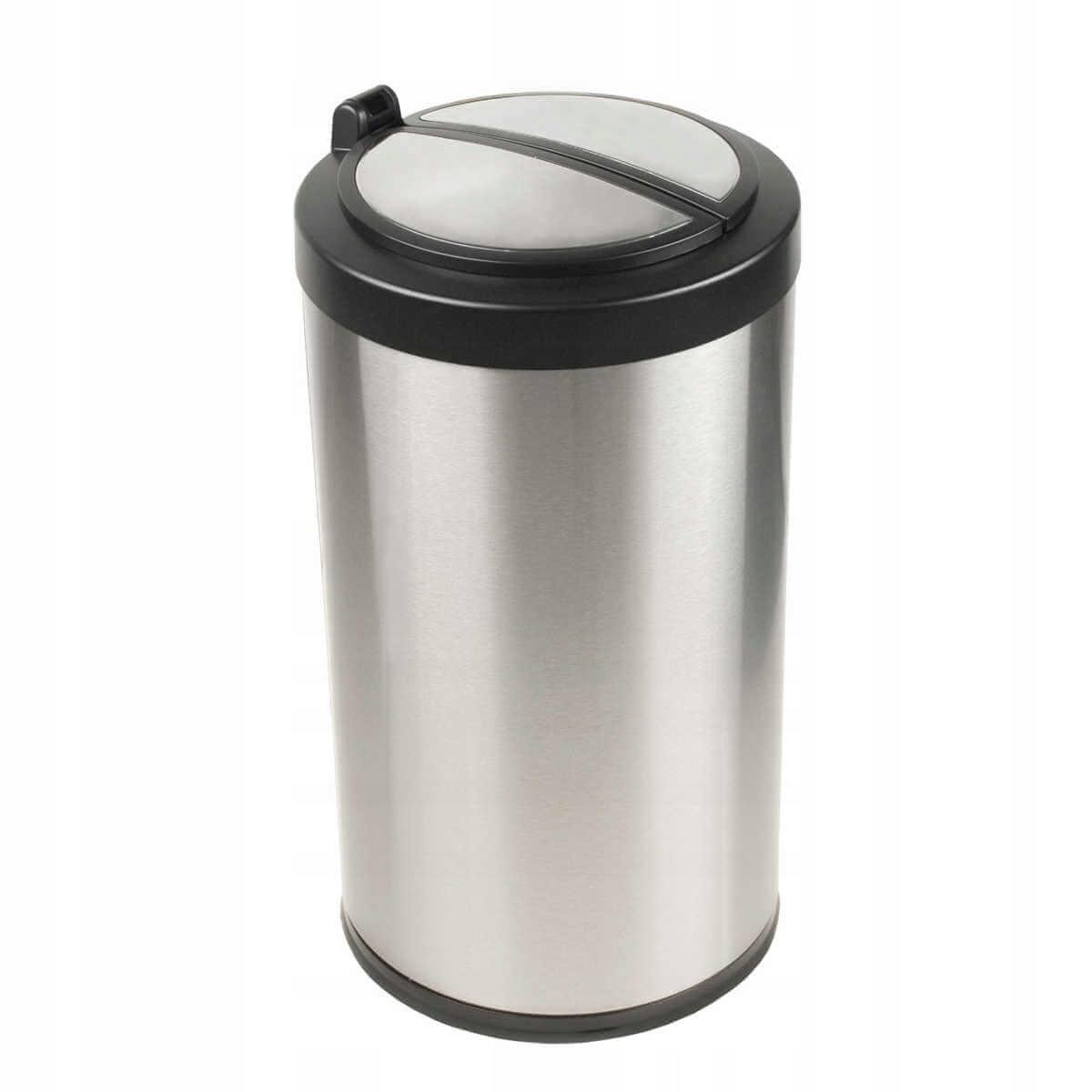 Корзина для мусора автоматический 12 л, нержавеющ сталь.