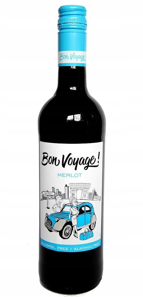 Item The wine is Soft Bon Voyage Merlot 750 ml