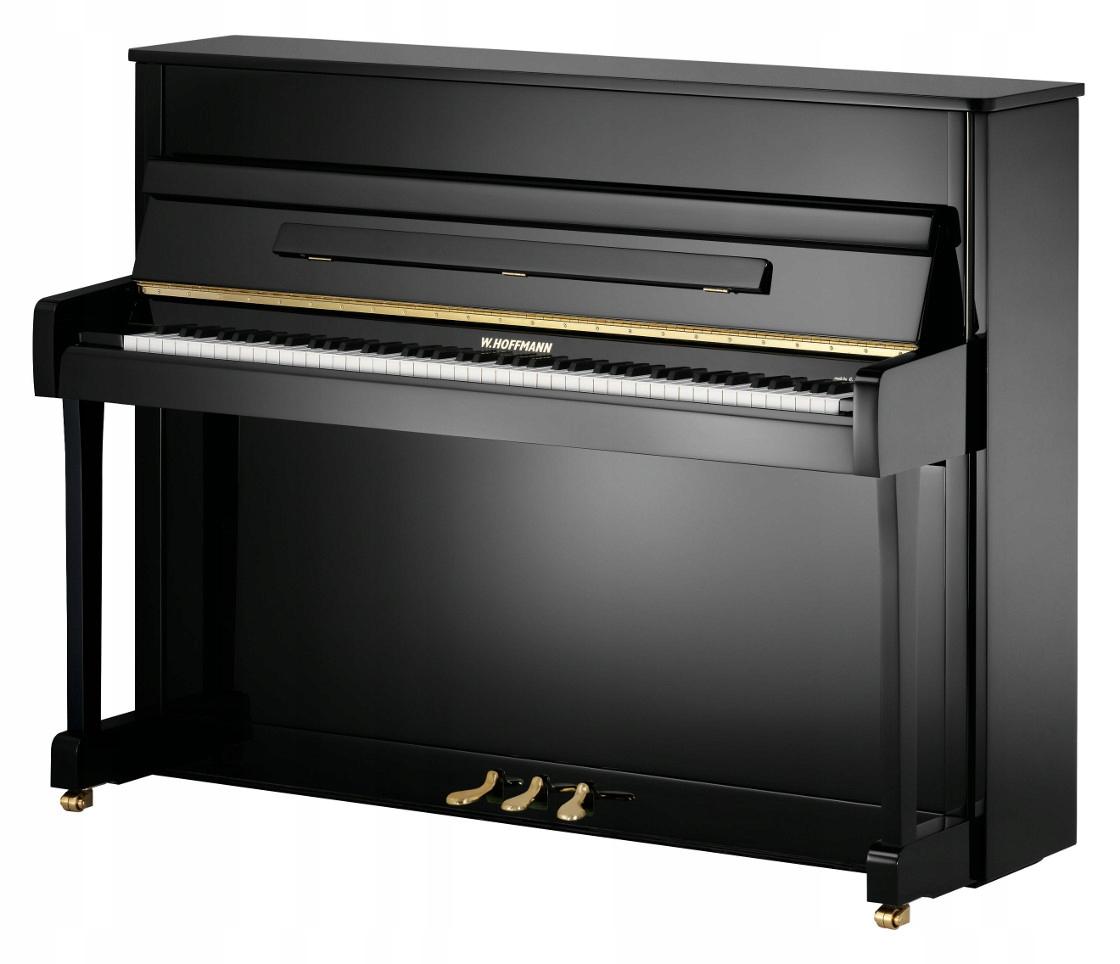 Piano W. HOFFMANN V-112 Čierny lesk