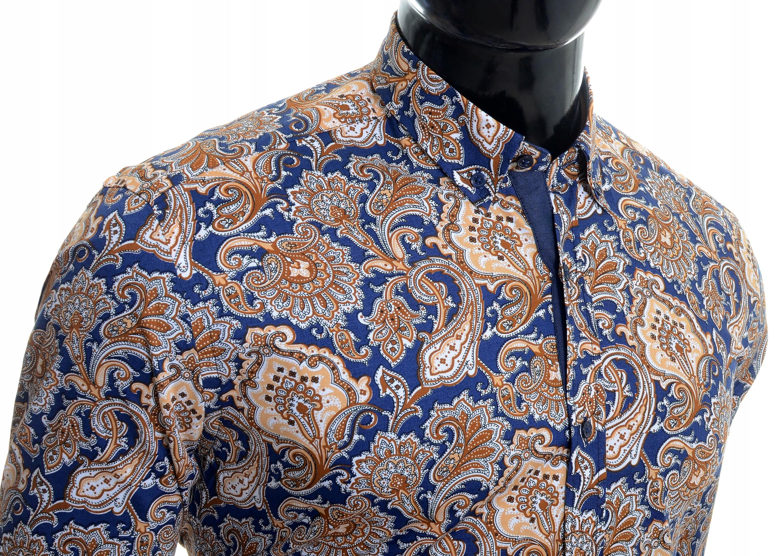 Koszula Męska Cipo Baxx Casual Elegancka NOWOŚĆ 7801908877  gm3kU