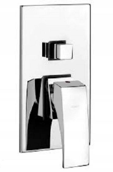 BPO 044P Domino chrome flush inštaláciu na stenu Firma Fonte