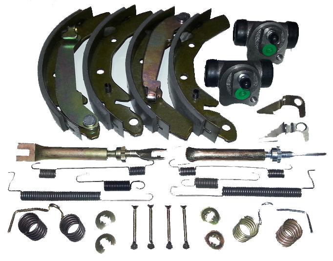 Наборы, ремкомплекты тормозной системы, daewoo matiz (деу), челюсти циллиндры расширители