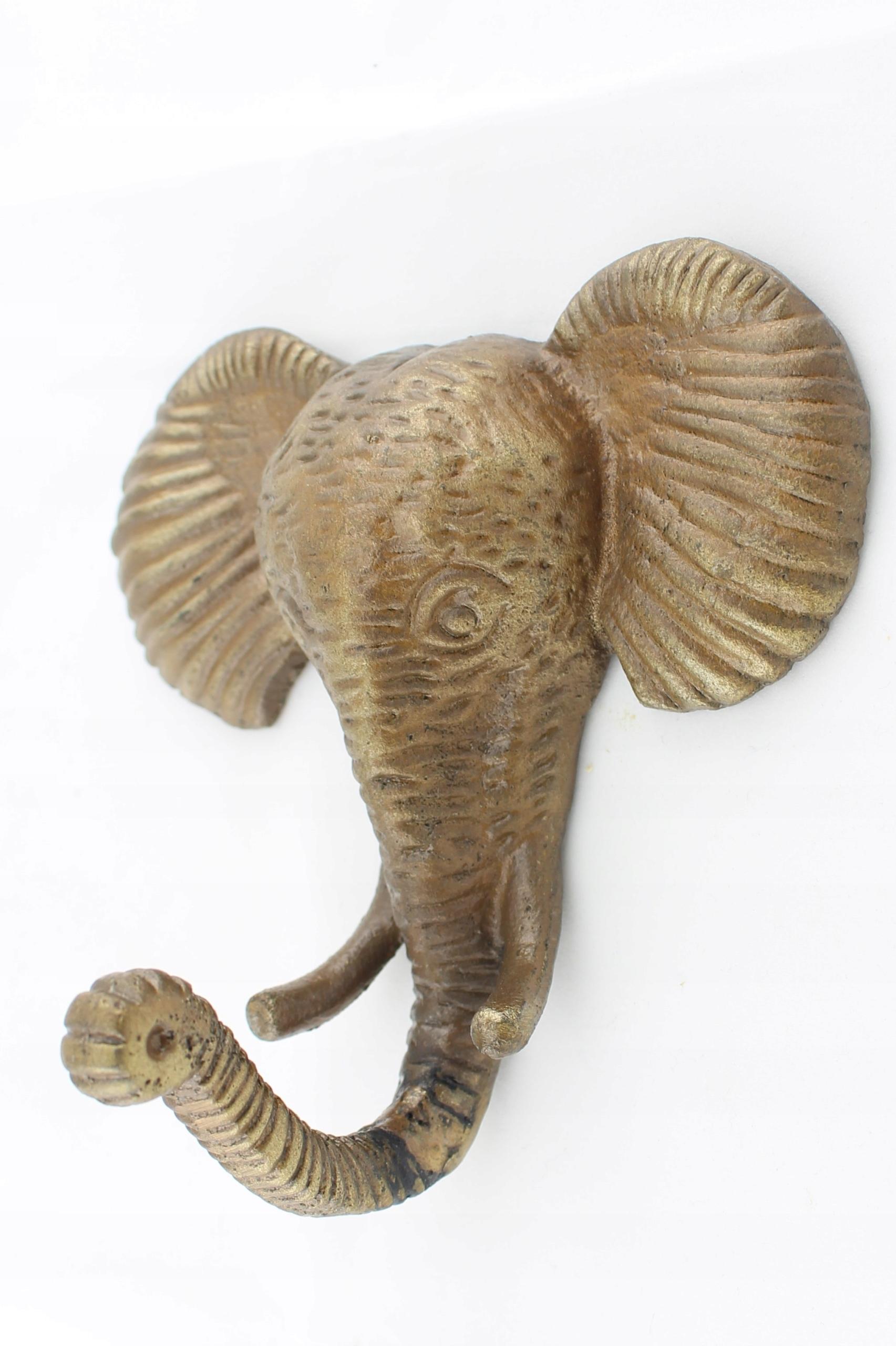 Slon vešiak, oblečenie hák