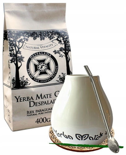 YERBA MATE STARTER KIT YERBA MATE GREEN 400g