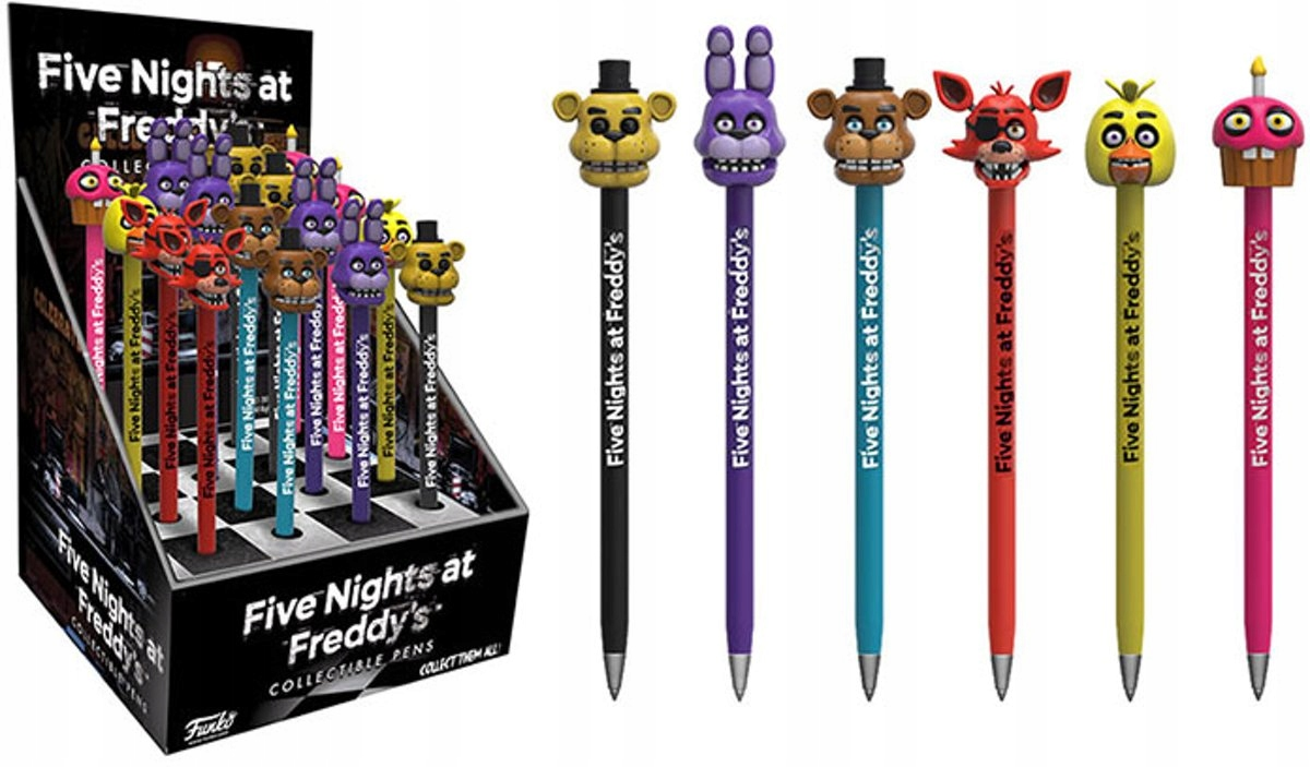 Five Nights na Freddyho 6x Funko Pop FNAF Pen