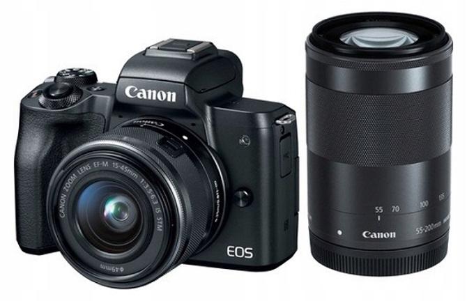 Цифровой фотоаппарат Canon EOS M50+EF-M15-45 ISSTM+55200