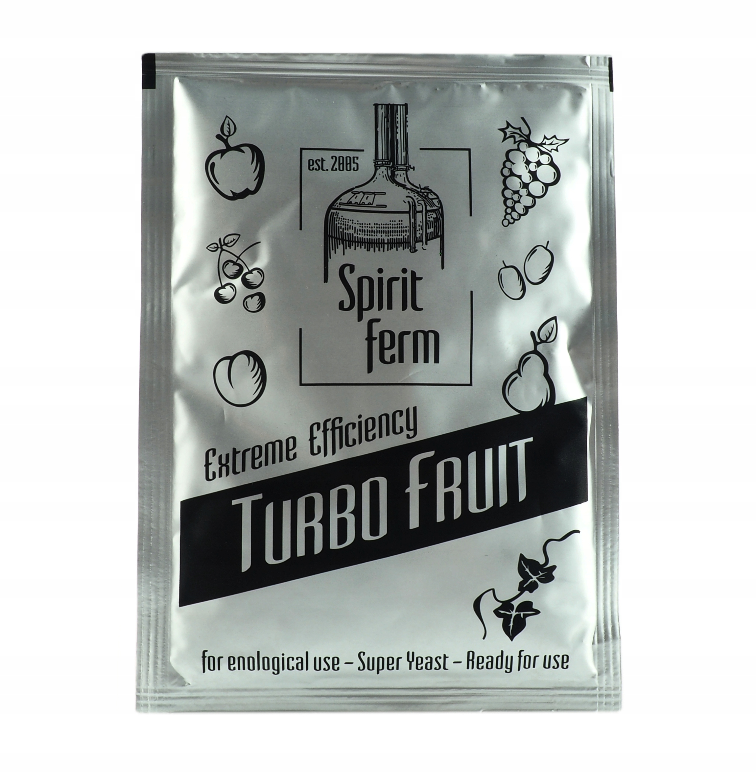 дрожжи для дистилляции Spirit Ферм Турбо Fruit самогон
