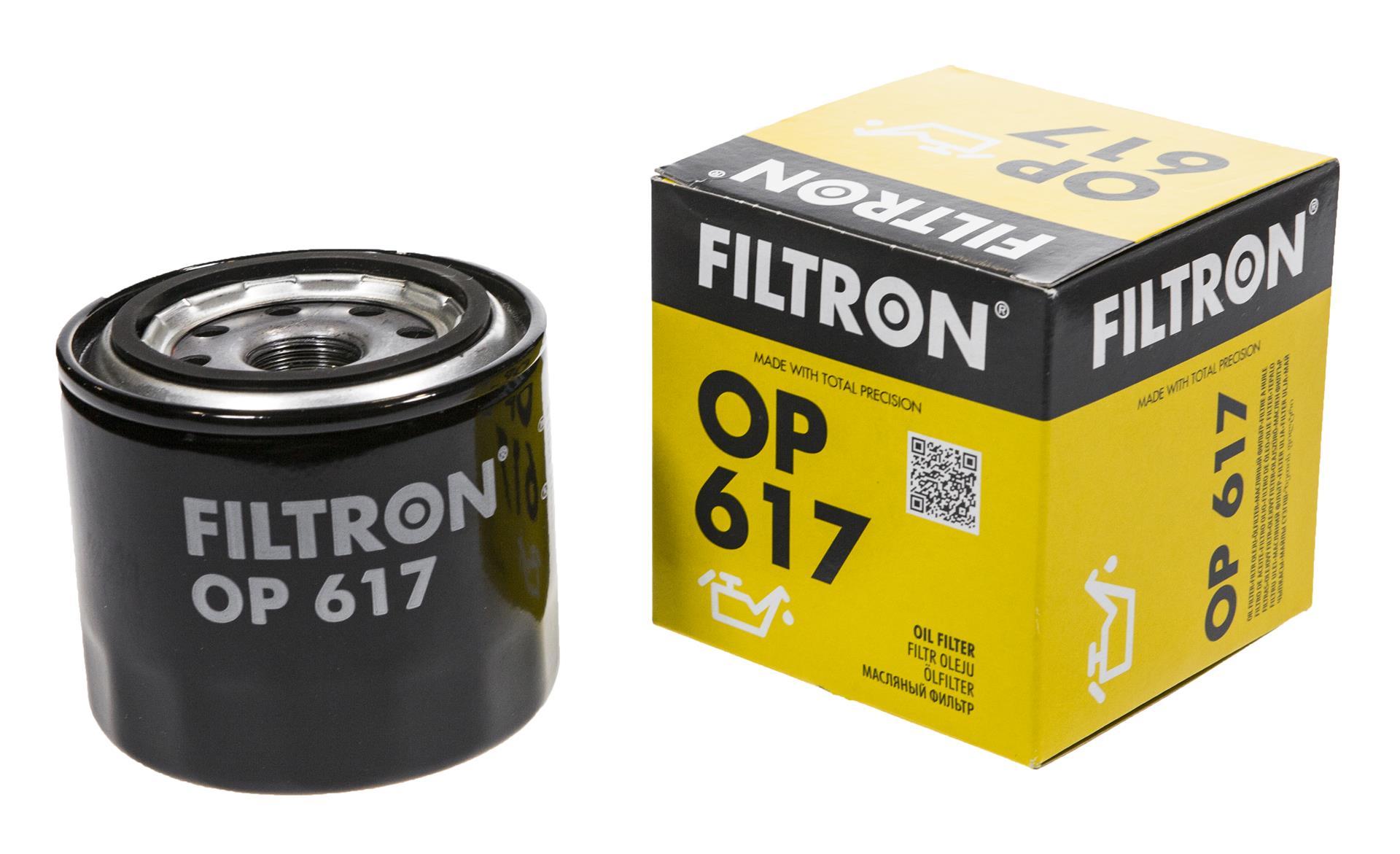 фильтр масла filtron кол-во в упак 617