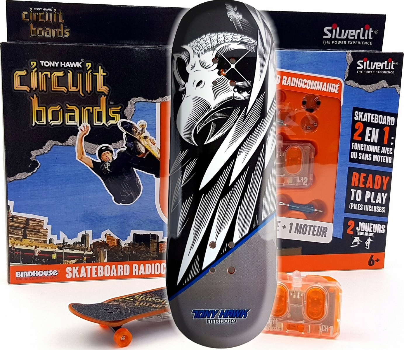 Skateboard na diaľkovom ovládači