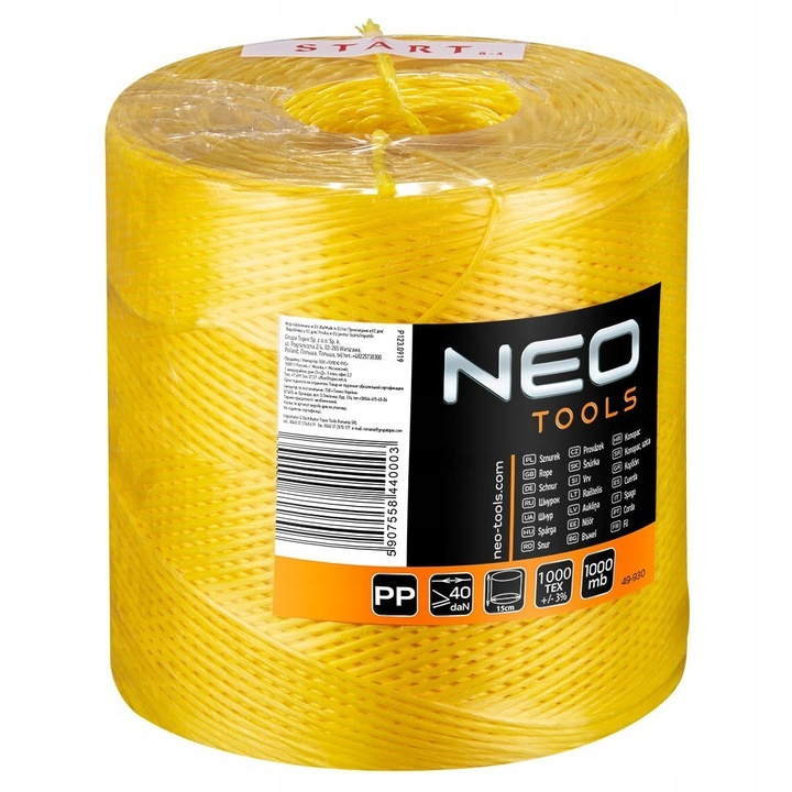 NEO 49-930 Sznurek do mocowania wełny mineralnej 8811572711 - Allegro.pl
