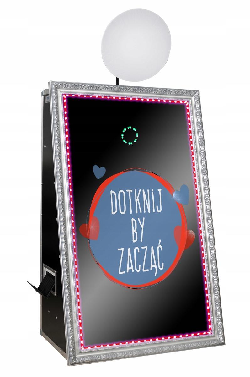 Item Fotobudka Fotolustro Mirror 65 inch LED 4K Quality