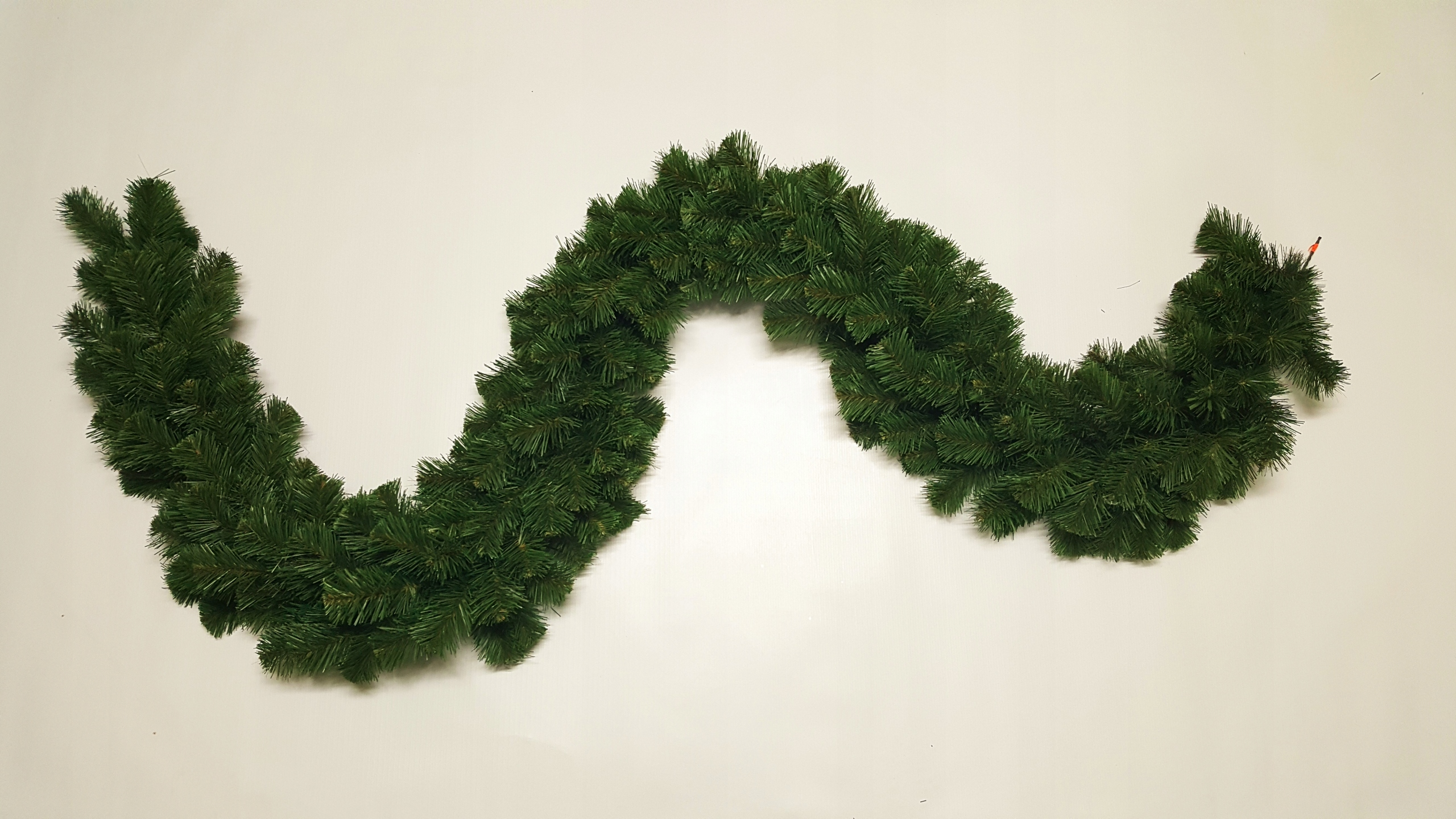 Hustá dekorácia vianočná jedľová girlanda 300cm