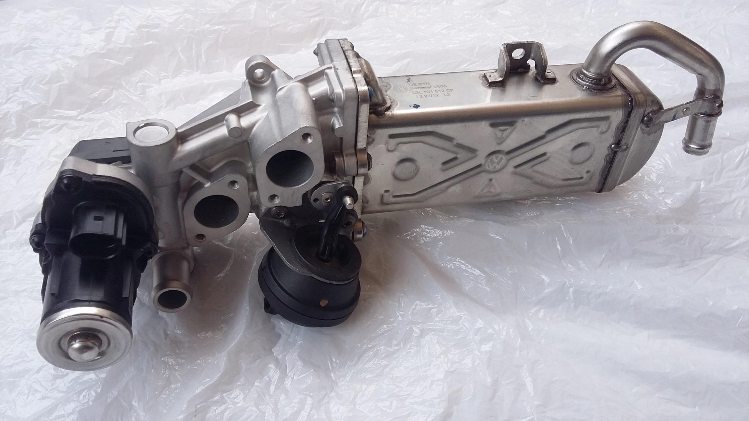 клапан рециркуляції вихлопних газів egr golf octavia 1.6tdi, фото