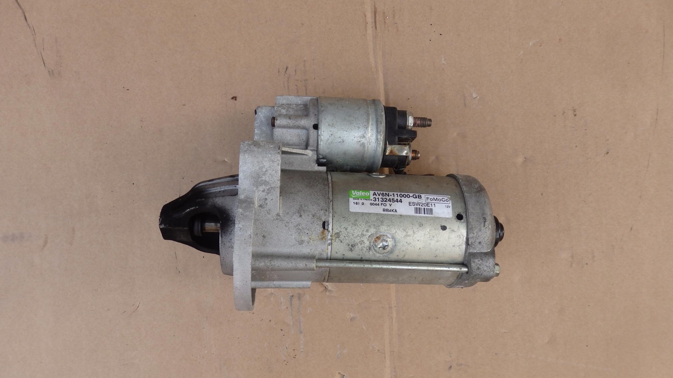 стартер ford mondeo mk5 15 tdci av6n-11000-gb