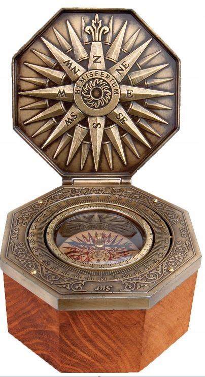 Kompas mosadz gimbal
