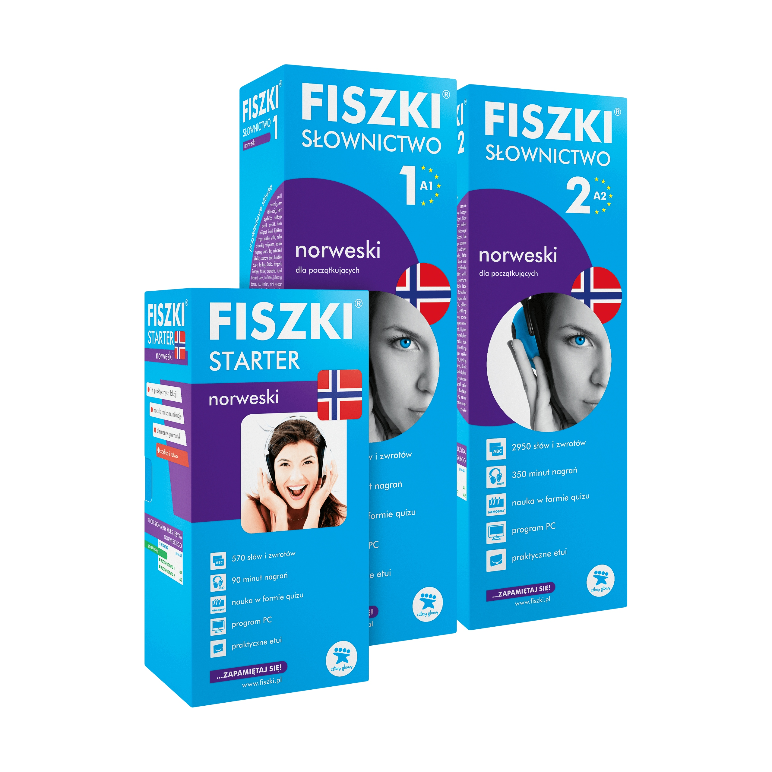 Item A SET of FLASHCARDS - NORWEGIAN for beginners