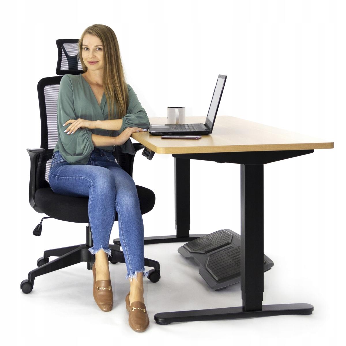 Ергономічне офісне крісло AMO-90 поворотне крісло Максимальне навантаження 135 кг
