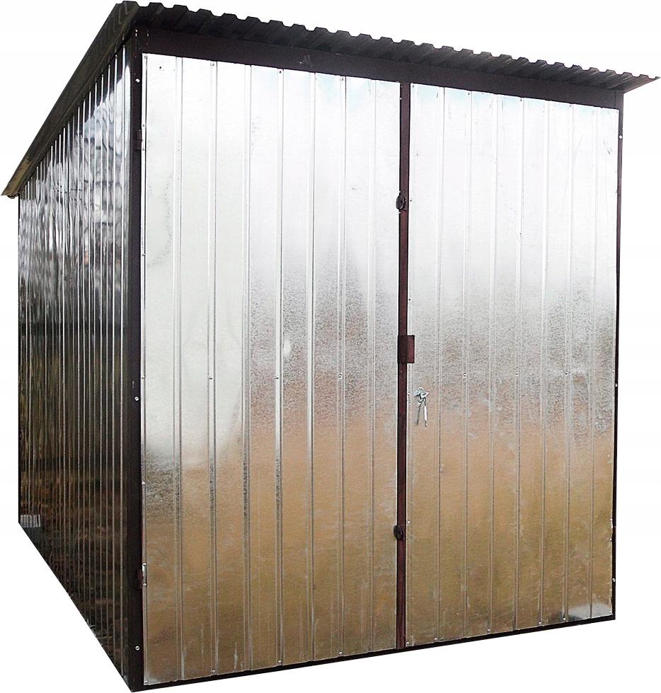 Жестяной гараж, складское отделение под стройку 2х3 м 2-го класса.