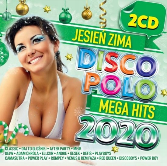 Item CD DISCO POLO 2020 Give Louder-Mama don't Go