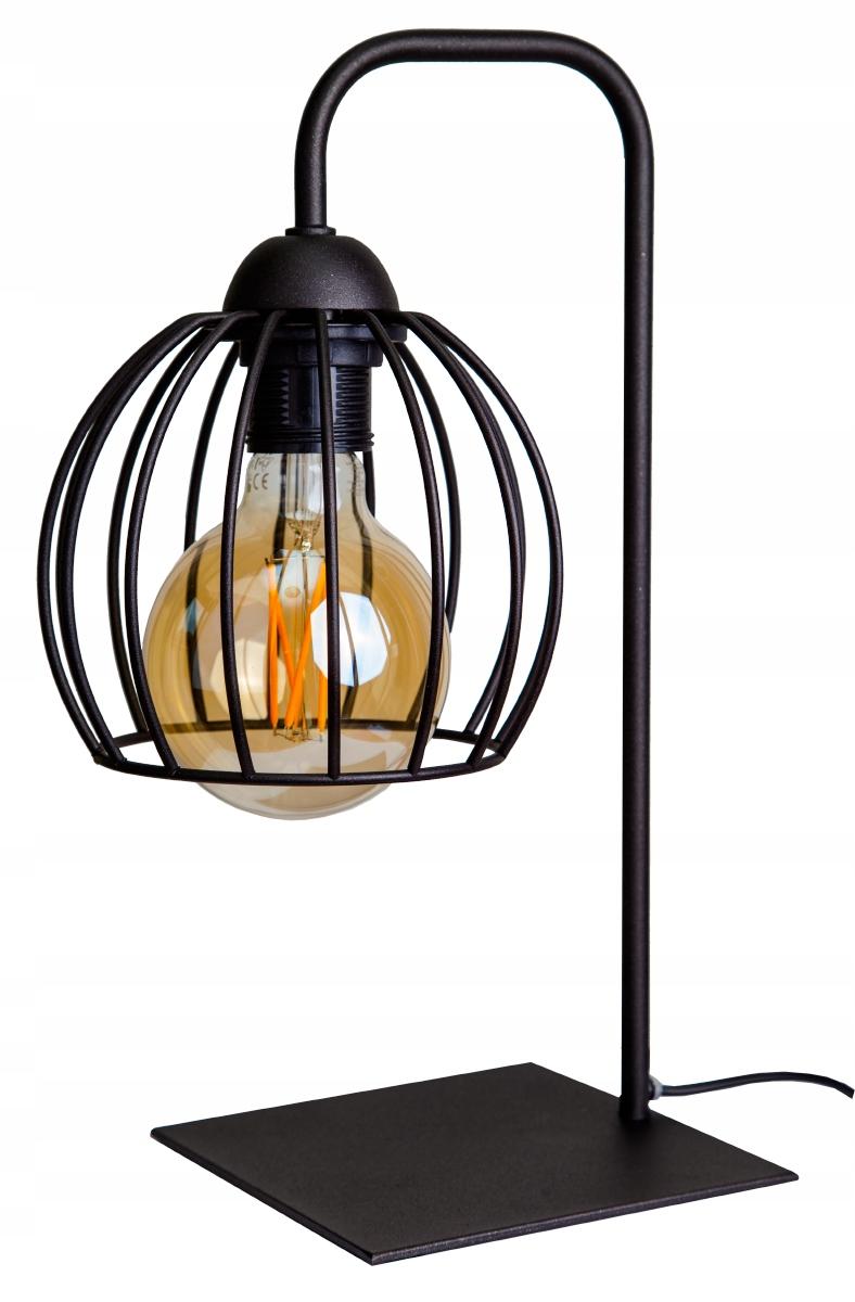 NOČNÉ SVETLO STOLNÁ LAMPA EDISON LOFT RETRO