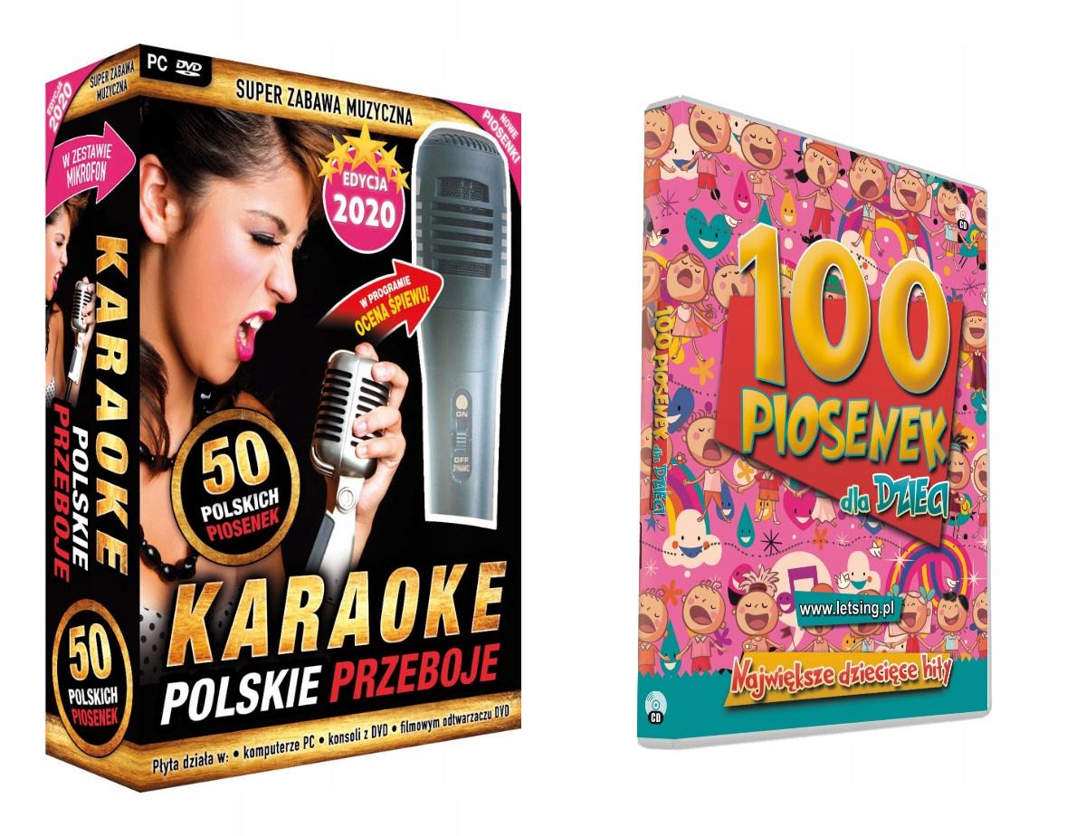 Купить Karaoke Polskie Przeboje хиты 2019 + 100 песен на Otpravka - цены и фото - доставка из Польши и стран Европы в Украину.