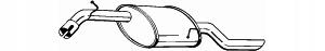 глушитель конечный bosal daewoo nubira 1 6 16v седан