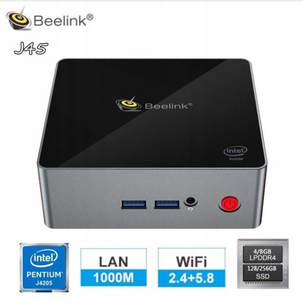 Купить Beelink J45 8GB /128GB UHD 4K Win10 на Otpravka - цены и фото - доставка из Польши и стран Европы в Украину.