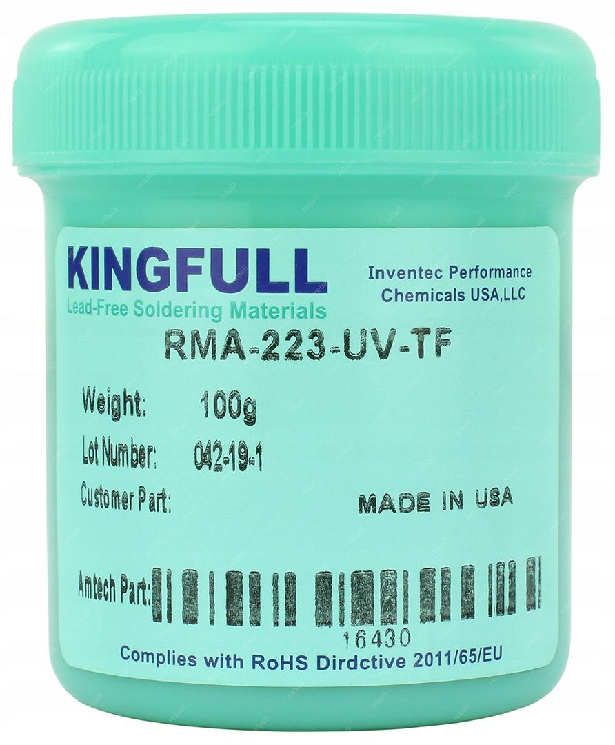 FLUX FLUX BGA SMD KINGFULL RMA-223-UV-TF 100G