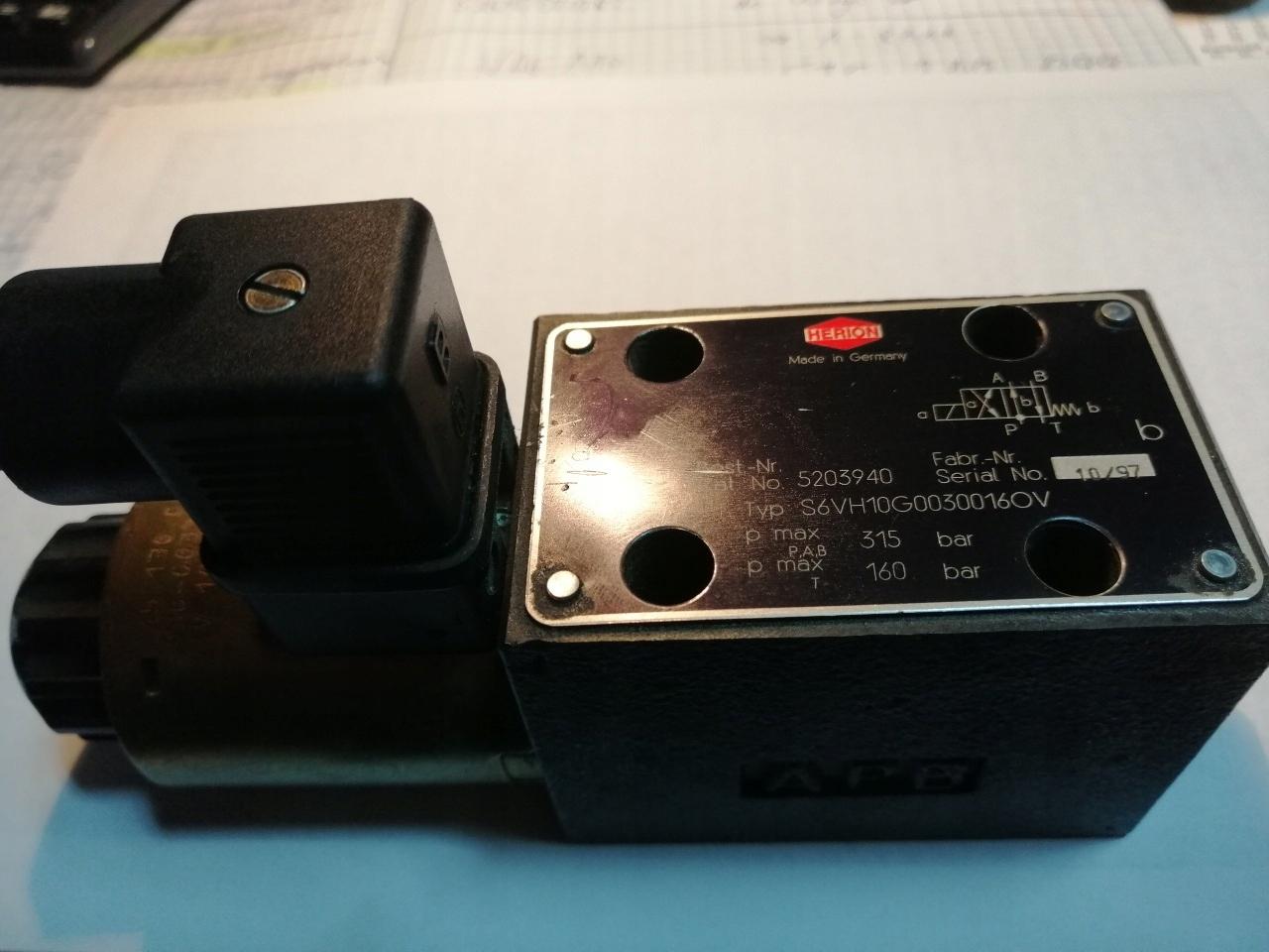 Vtáčový ventil č. 5203940 Typ S6VH10G0030016