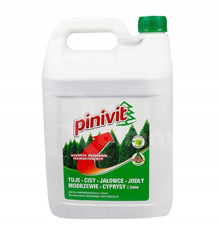 FLOROVIT PINIVIT 5.5KG ЖИДКОЕ удобрение для хвойных деревьев 5L