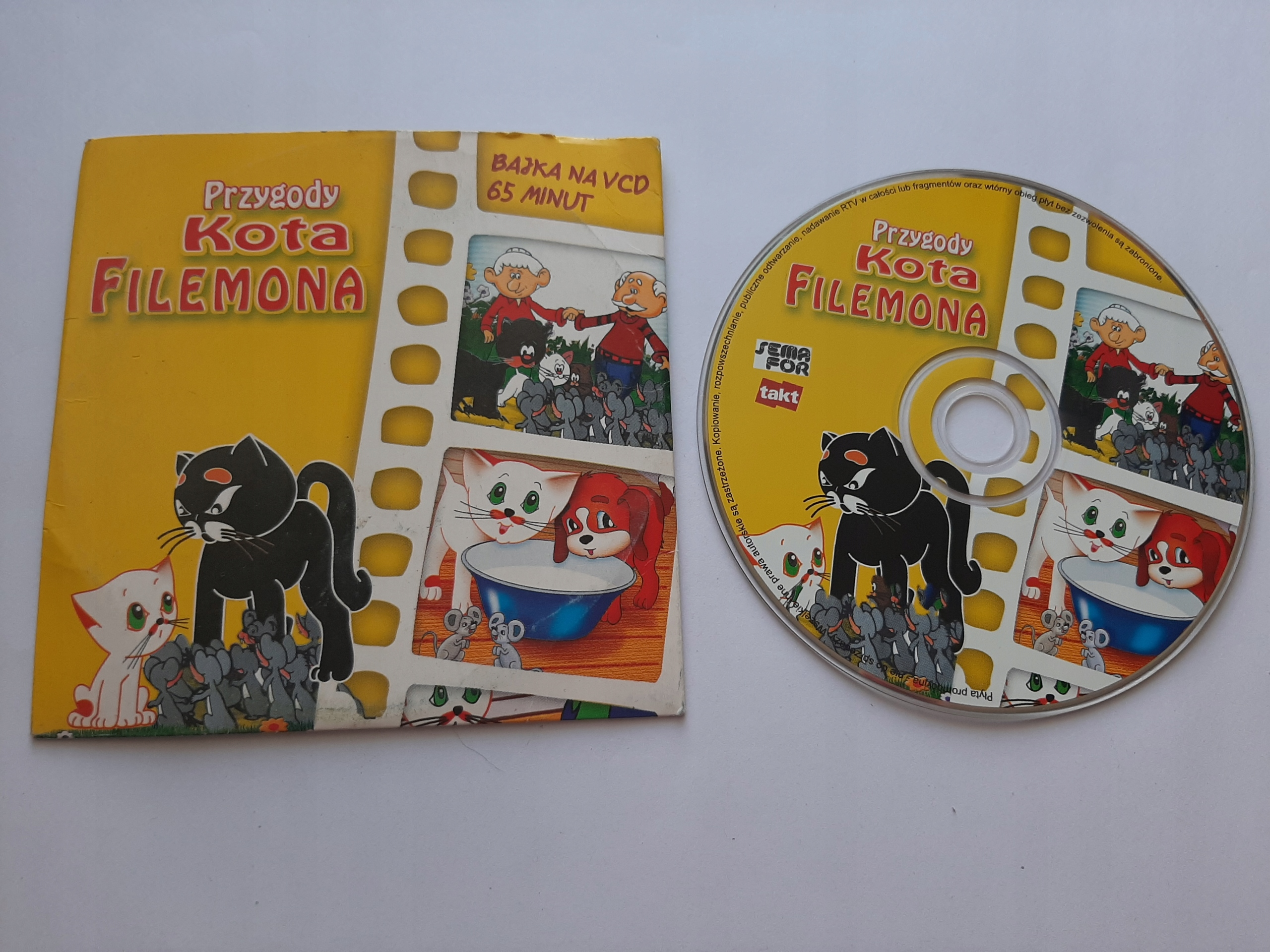 Item * Adventures of a Cat of Philemon, a tale to VCD, 65 minutes