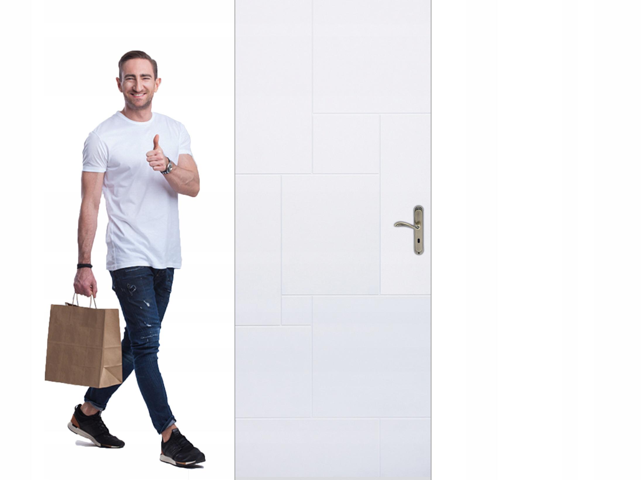 Drzwi wewnętrzne lakierowane WINDOOR INDUS NOWOŚĆ