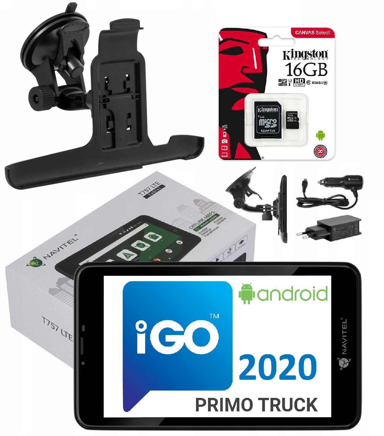 IGO PRIMO Грузовик Навител T757 Android GPS-навигация