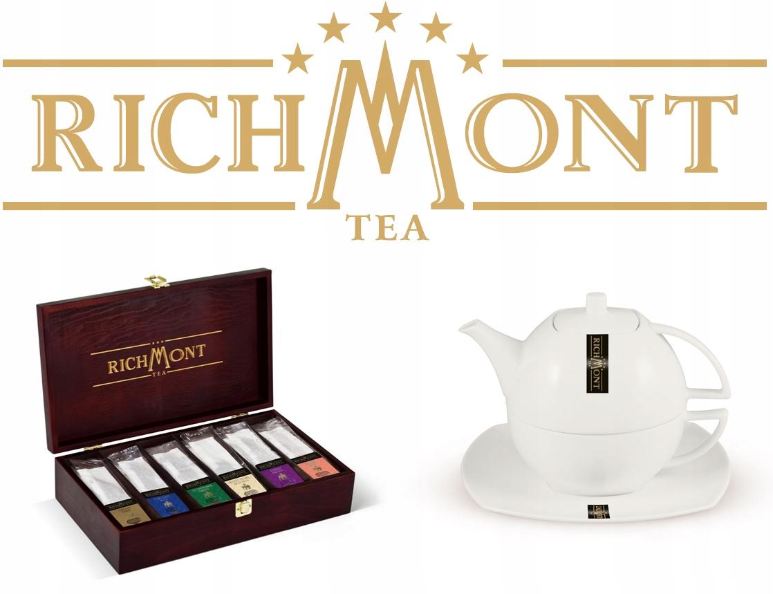 Купить RICHMONT Pu-Erh Клубничный чай 1 пакетик на Otpravka - цены и фото - доставка из Польши и стран Европы в Украину.