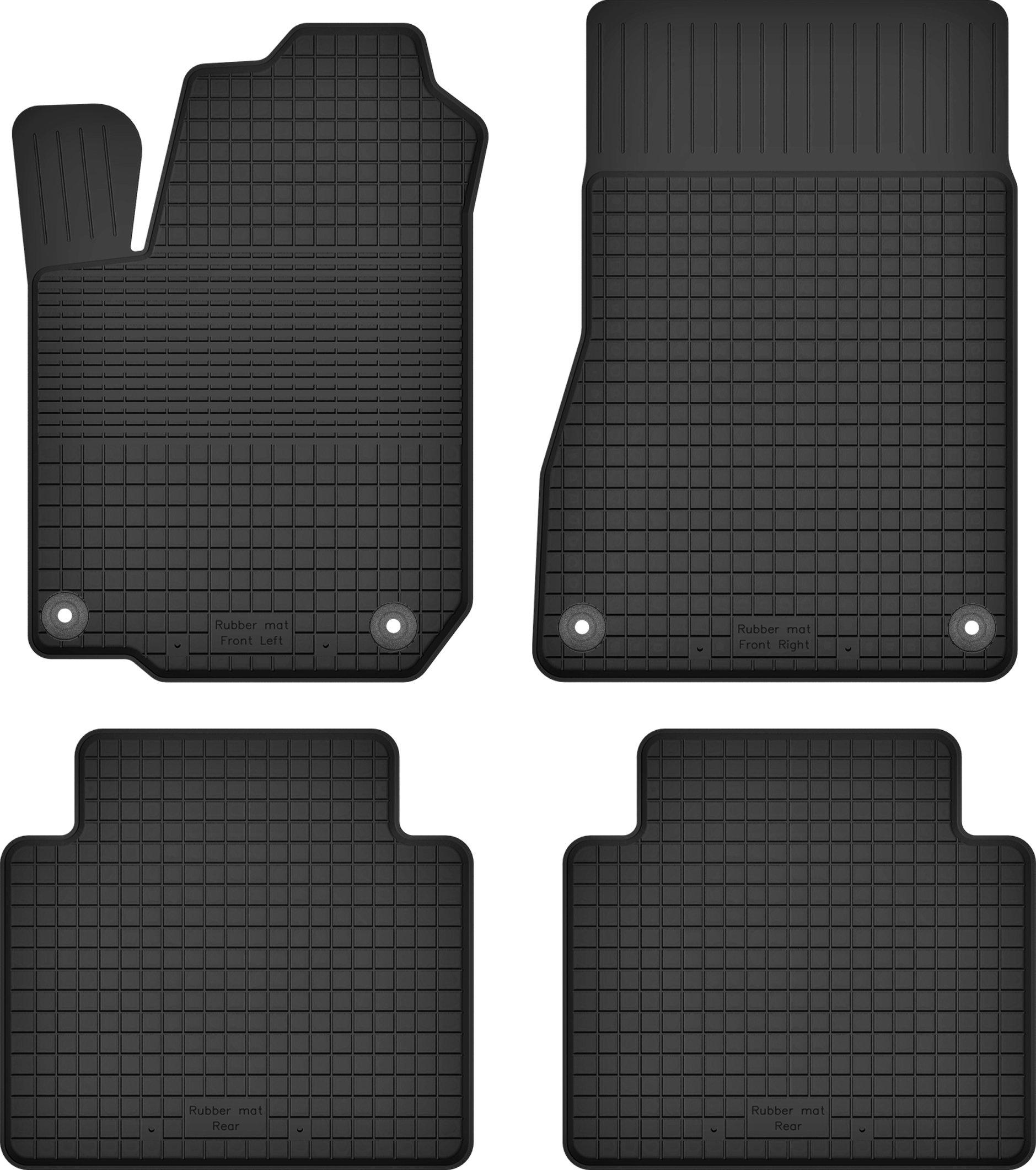 Резиновые коврики OPEL VECTRA C / SIGNUM + СТОПЕРЫ
