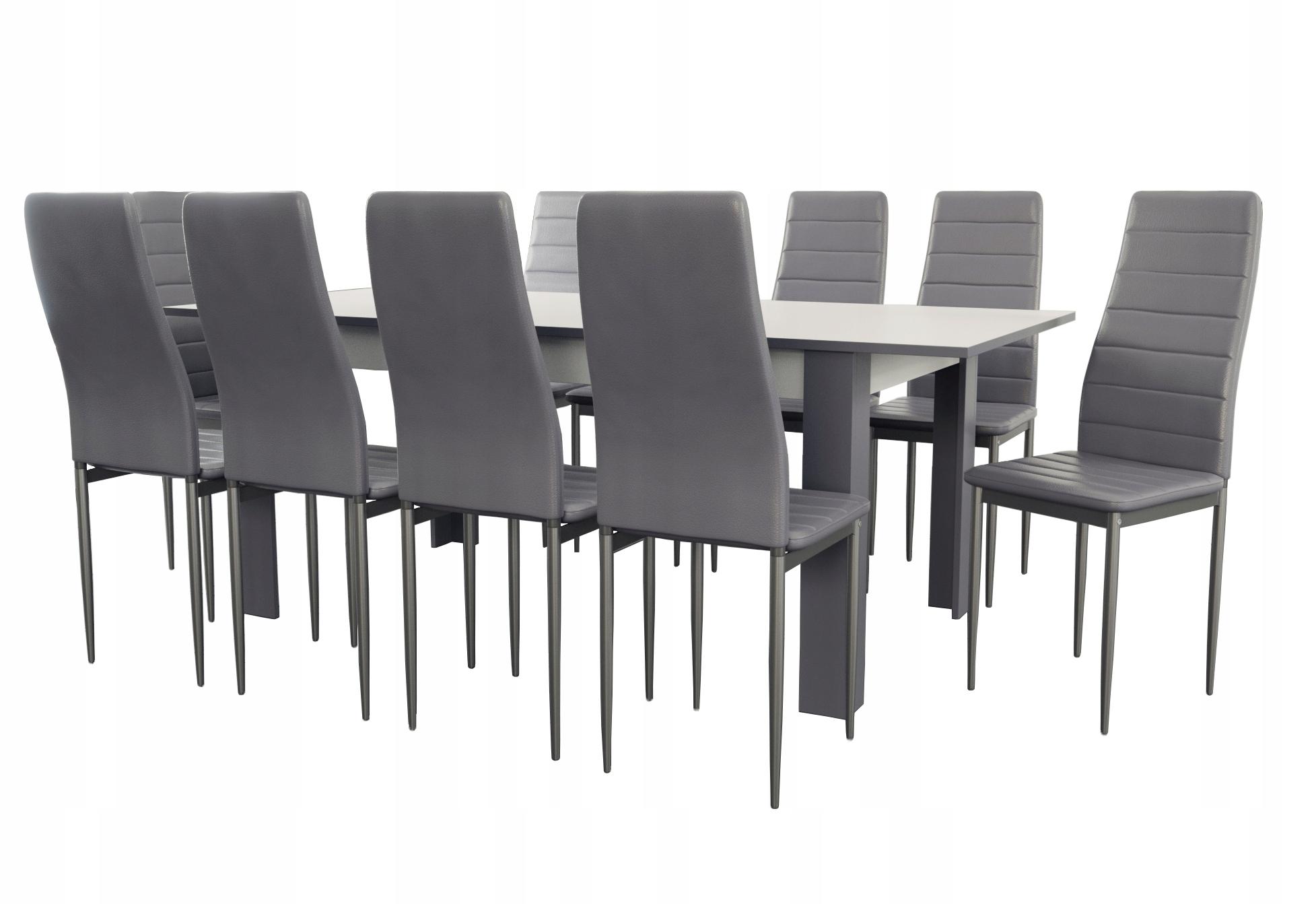 komplet stół i 10 krzeseł K-90 stół na święta