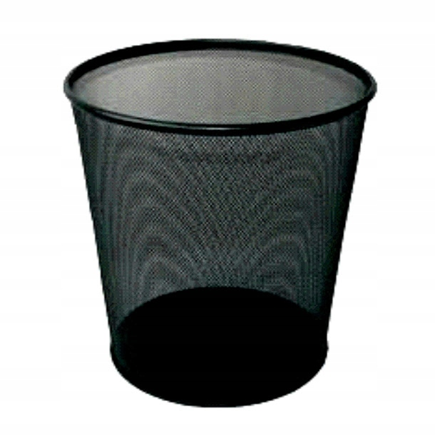 Item Bin, metal, 18l black