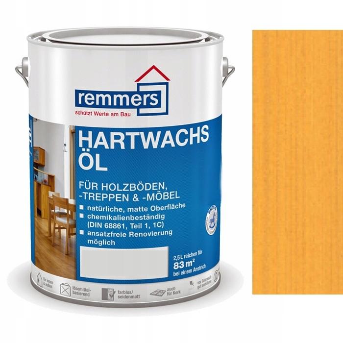Hartwachs-Ol REMMERS 2.5 l BOROVICA