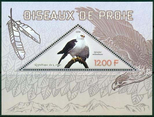 Купить Ptaki drapieżne orzeł fauna Kongo blok ** #CON1446 на Otpravka - цены и фото - доставка из Польши и стран Европы в Украину.