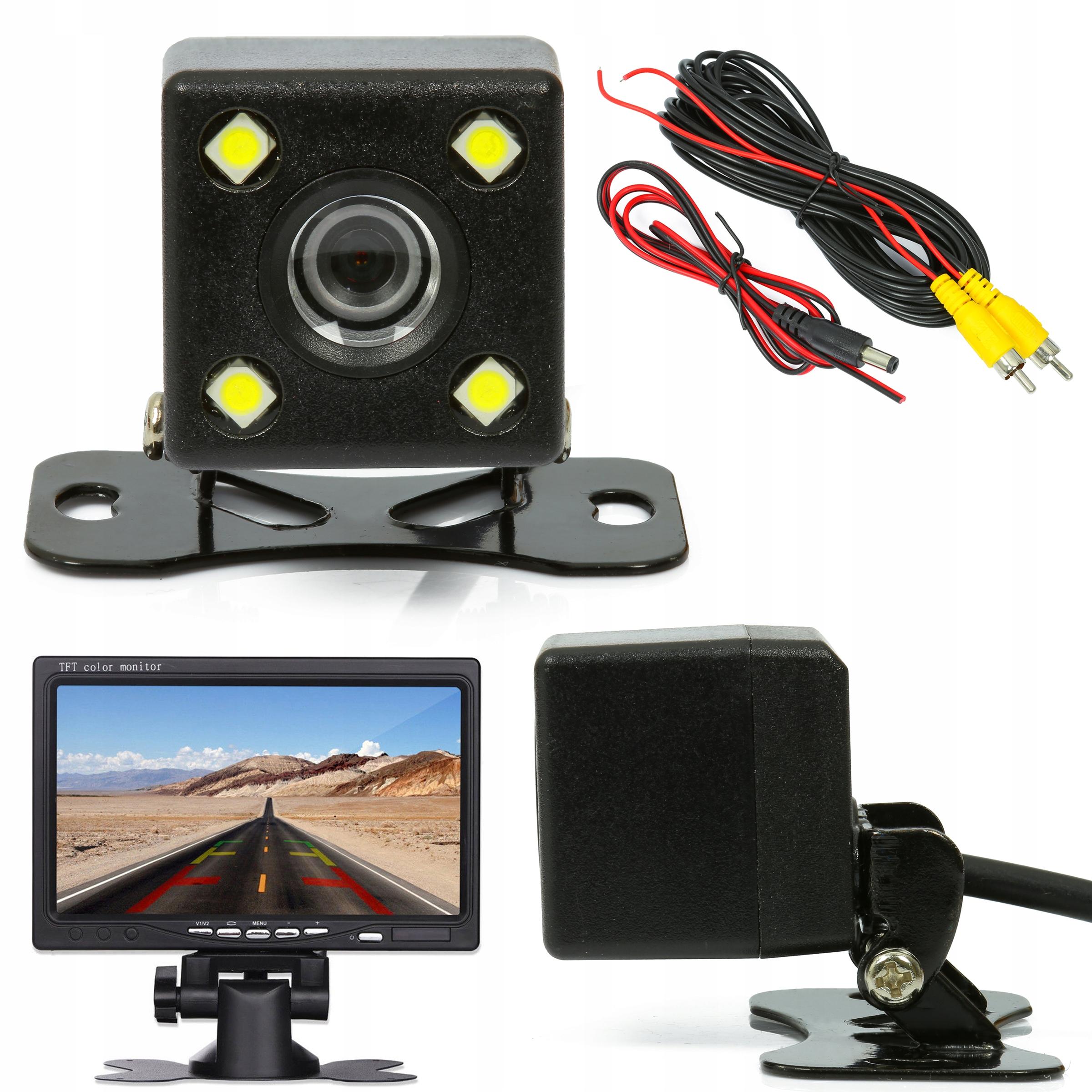 Парковочная камера заднего вида ВИДЕО RCA LED IR NIGHT