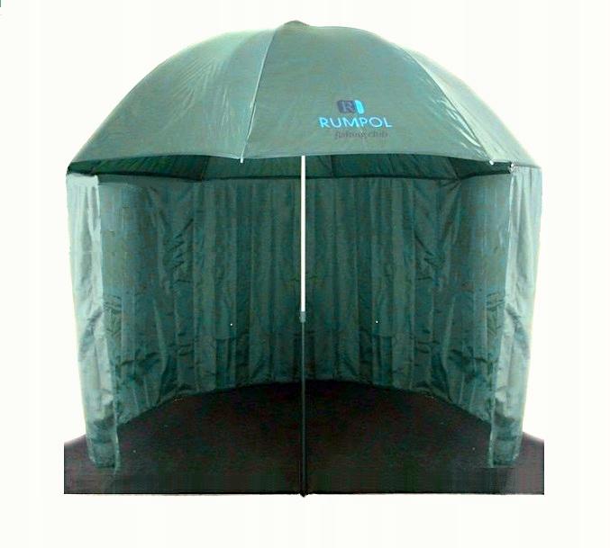 Silný dáždnikový stan impregnoval dobrú voľbu