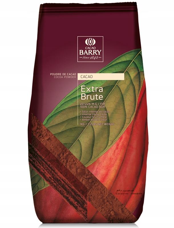 Kakao 22-24% tuku, 100% alkalizowane 1 kg, BELGICKO