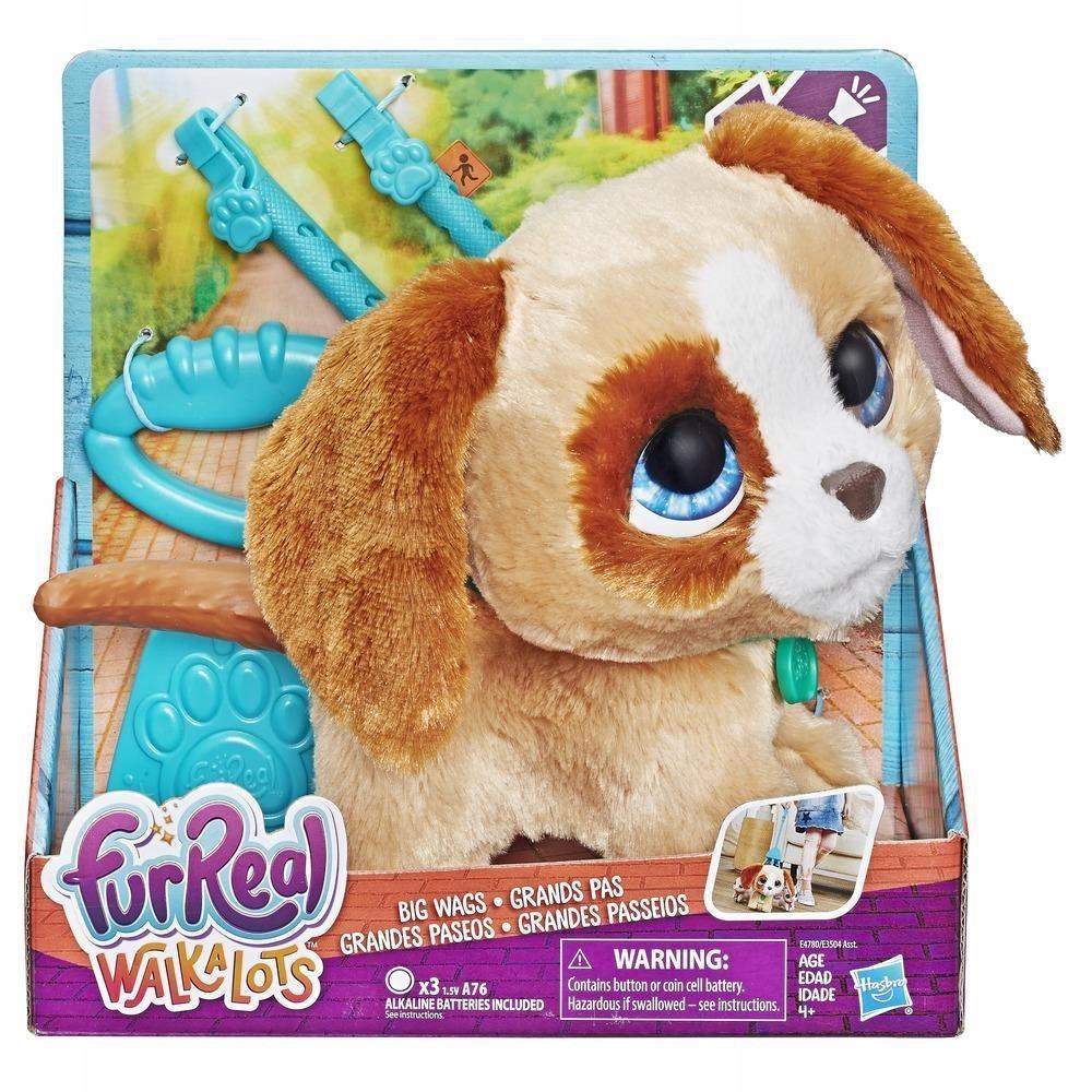 FurReal Friends Big Dog na vodítku Hasbro