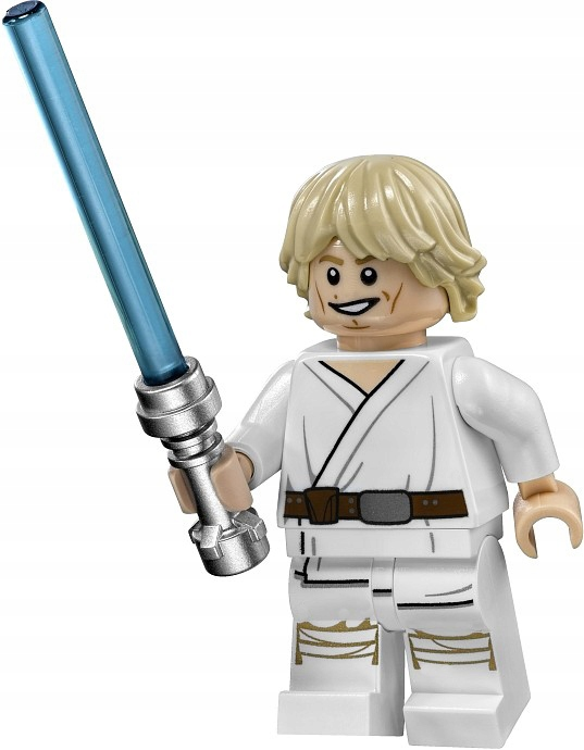 FIGURKA LUKE SKYWALKER STAR WARS + KARTA LEGO