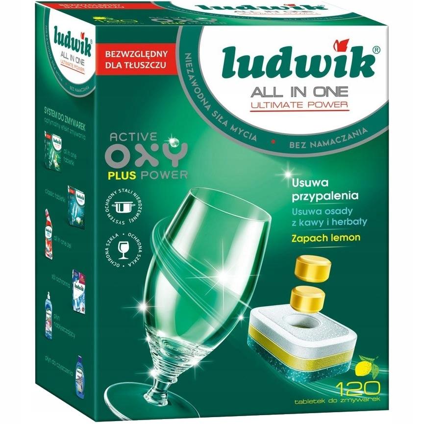 Таблетки для посудомоечных машин Ludwik All In One 120 шт