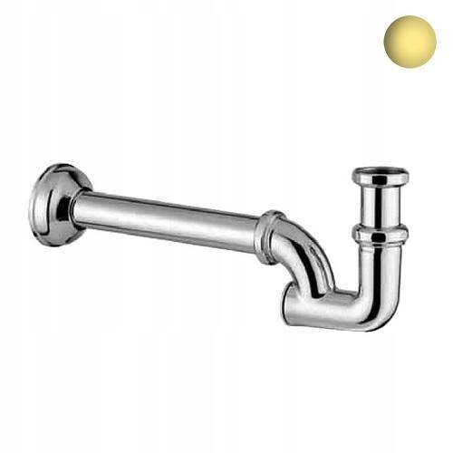 Demm umývadlo / bidetový sifón retro zlaté