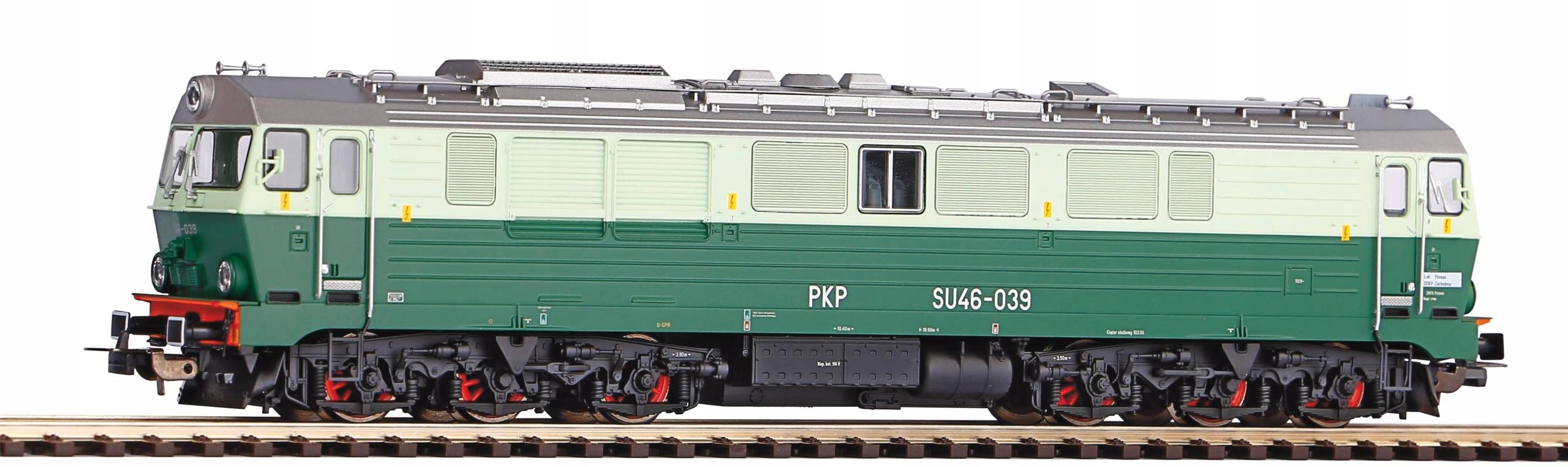 Lokomotywa spalinowa SU46-039 PKP HO Piko 52860-2