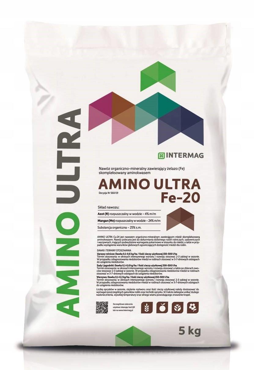 AMINO ULTRA FE-20 IRON CHELATE 5KG INTERMAG